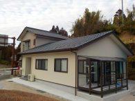 地震で柱が曲がり老朽化した我が家を建替え